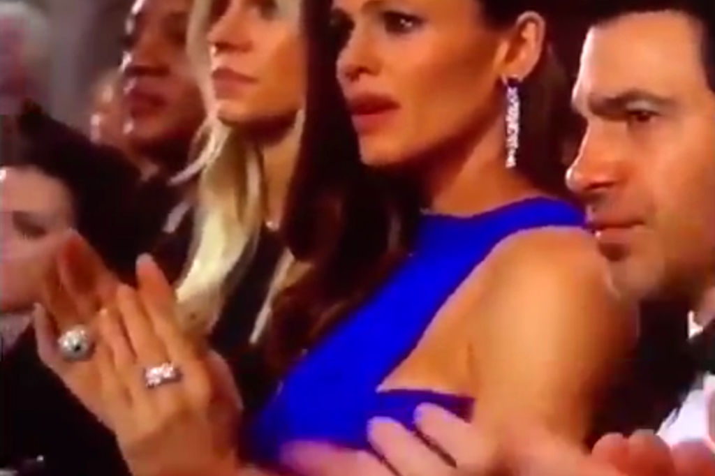 Jennifer Garner Reveals What She Was Thinking About at That Viral Oscars Moment