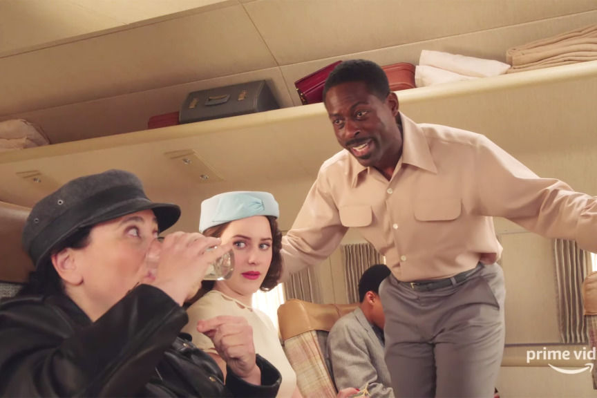 Sterling K. Brown Makes His Marvelous Mrs. Maisel Debut in New Season 3 Teaser