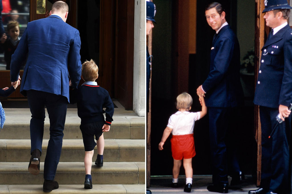 See William Visiting Baby Harry in the Hospital — and Then Taking His Kids to See the Royal Baby