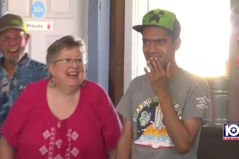 30-Year-Old Man with Special Needs Gets First Birthday Party Ever: 'He's Never Had a Present'