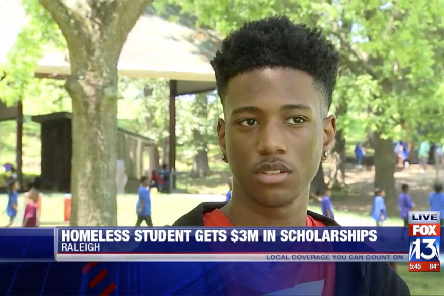 High School Student Awarded $3 Million in Scholarships, Graduates With 4.3 GPA While Homeless