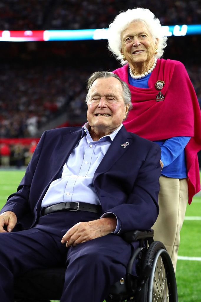 George H.W. Bush Says His Beloved Barbara Is in Heaven 'So Cross the Bushes off Your Worry List'