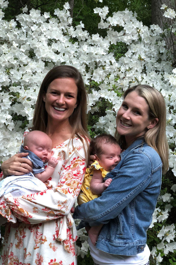 BFF Goals! Virginia Woman Serves as Surrogate for Best Friend — and Gives Birth to Twins!