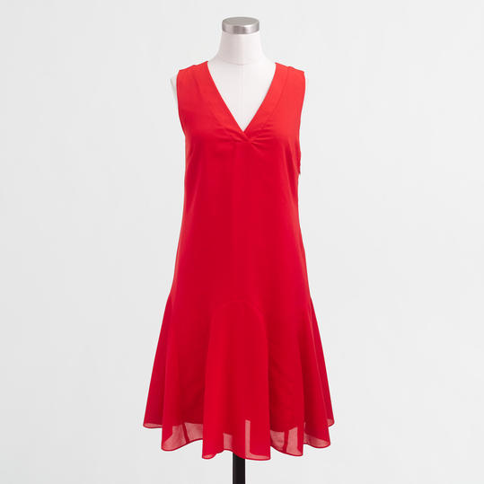 Sleeveless Flounce Dress from J. Crew Factory