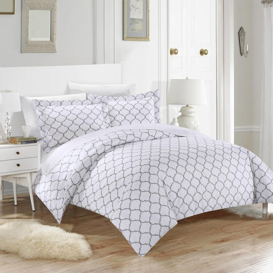 Finlay 3-Piece Bedding Duvet Cover Set