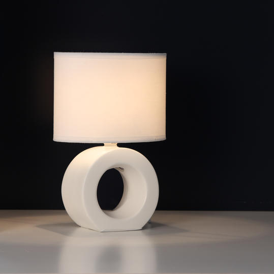 Ceramic Oval Table Lamps