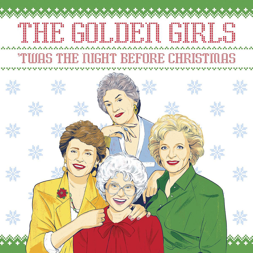 'The Golden Girls 'Twas The Night Before Christmas' Is This Years Perfect Holiday Stocking Stuffer
