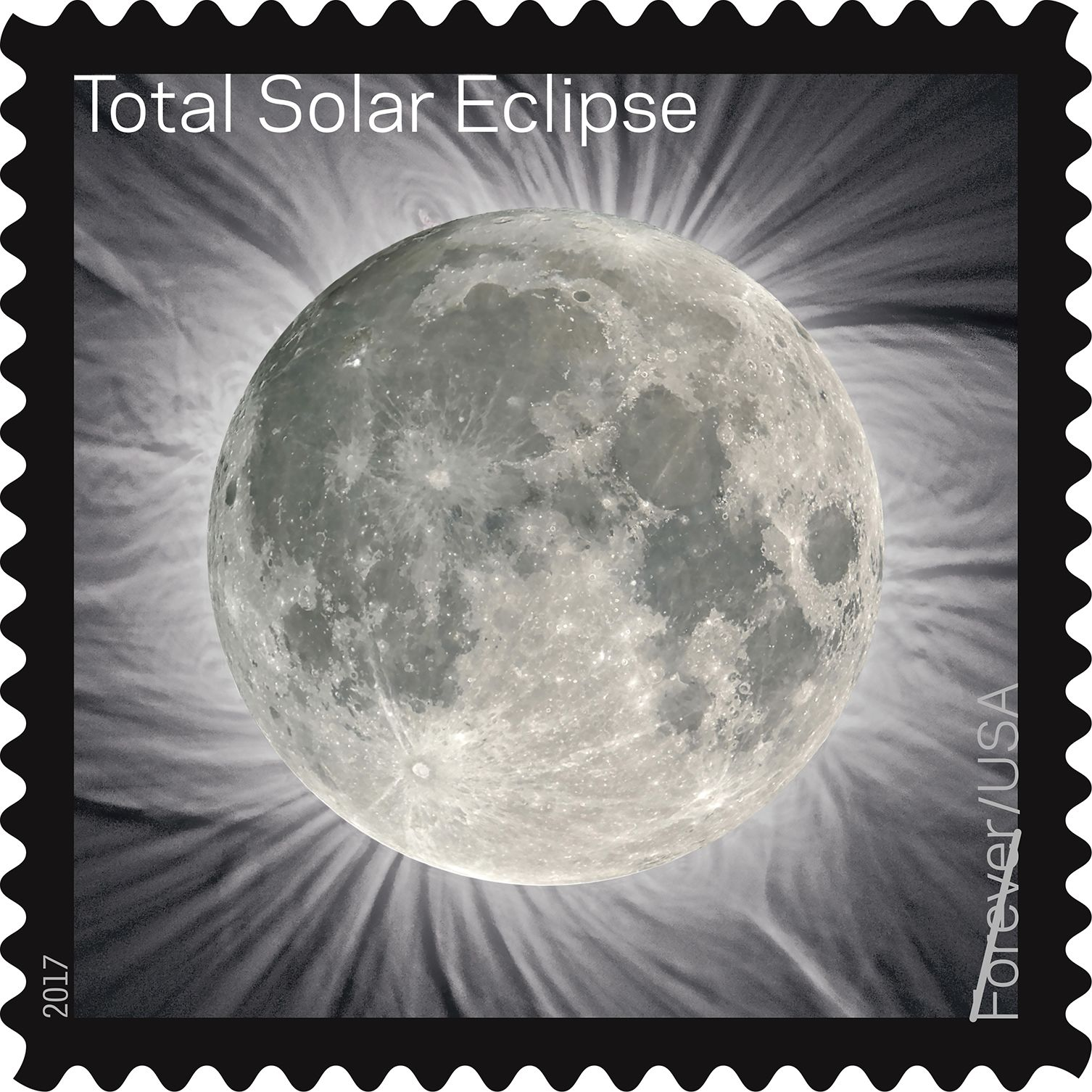 USPS Releases Ground-Breaking Total Eclipse of the Sun Forever Stamp