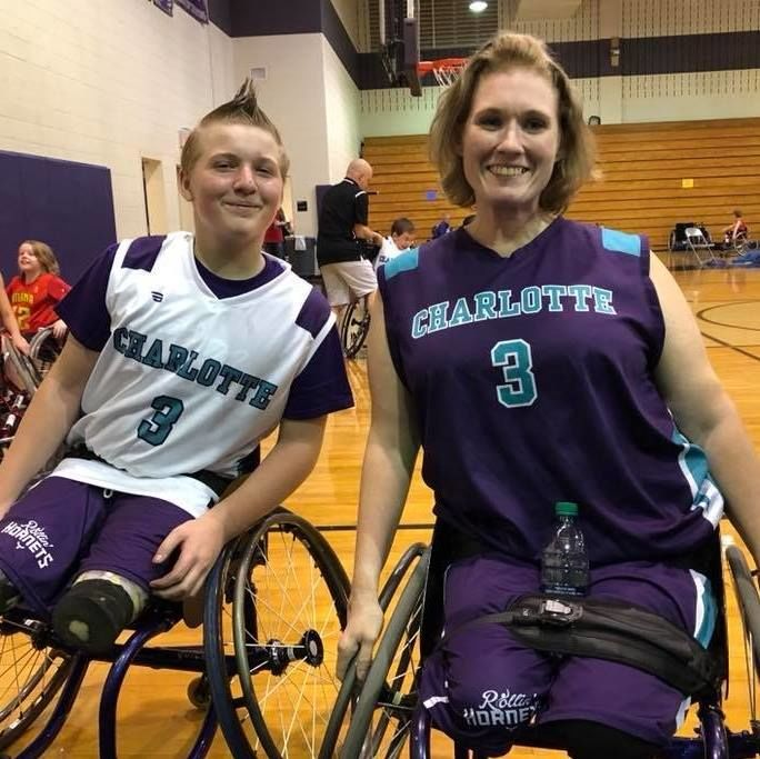 Meet the Inspiring Mother-Son Duo Competing in Charlotte's Wheelchair Basketball Organization
