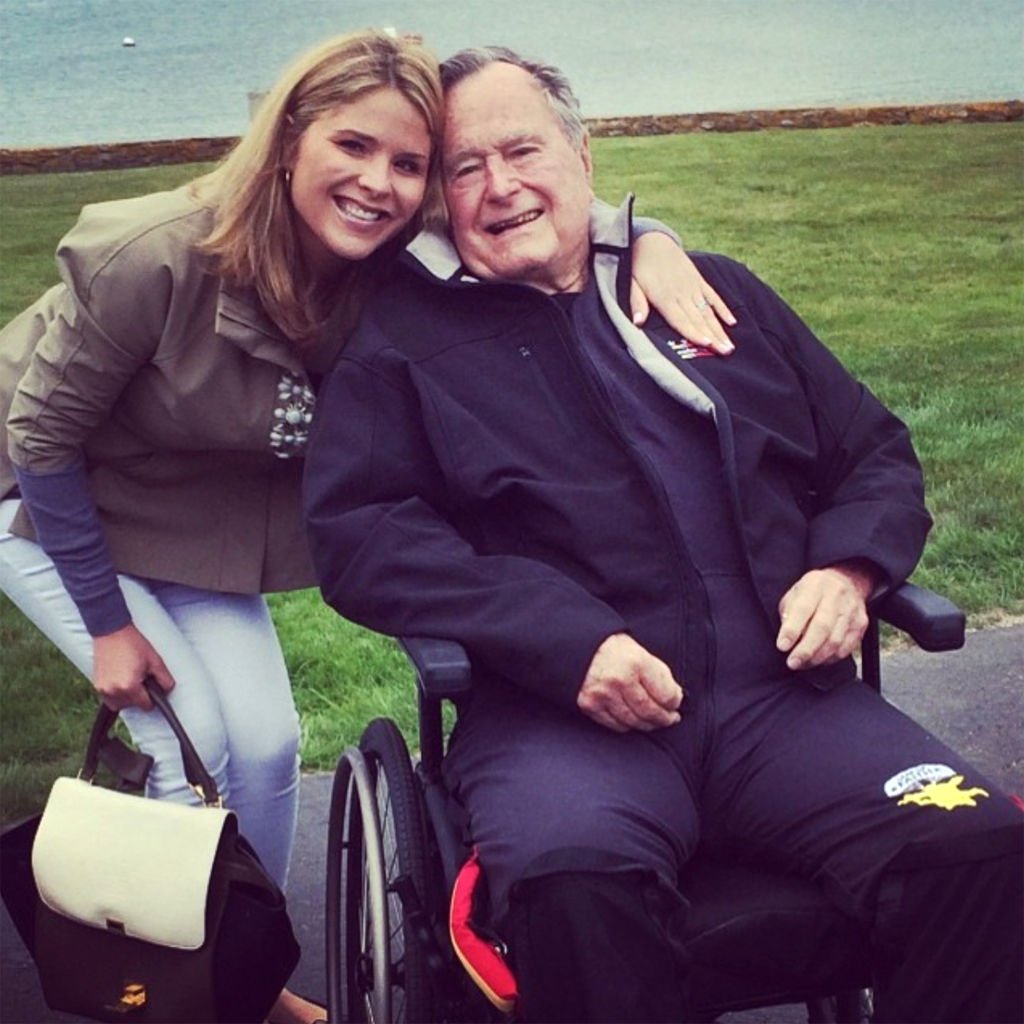 What Jenna Bush Hager's Grandparents Told Her When Today Offered Her a Job & She Wasn't Sure What to Do